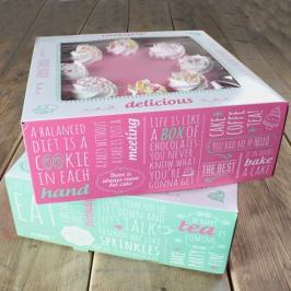 Pack de 2 cajas para tarta Bakery 31,5 cm x 31,5cm