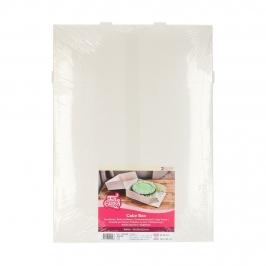 Pack de 2 cajas para tarta Blancas 32 x 32 cm