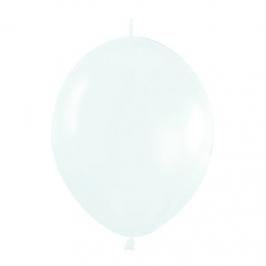 Pack de 25 Globos Linkoloon Blancos 30 cm