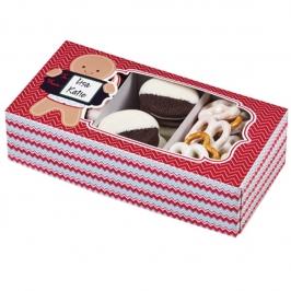 Pack de 3 cajas para galletas Gingerbread