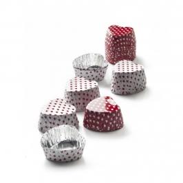 Pack de 36 mini cápsulas de aluminio San Valentín