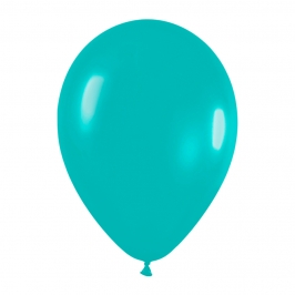 Pack de 50 globos color turquesa