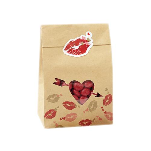 Pack Para Valentín Y Galletas San Bolsas Dulces De 6 POkuXZi