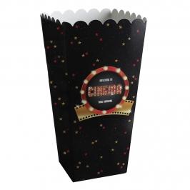 Pack de 8 Cajas para Palomitas Cinema