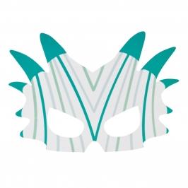 Pack de 8 Máscaras Dinosaurio