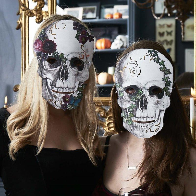 Pack de 8 Máscaras Esqueleto