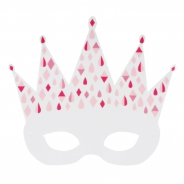 Pack de 8 Máscaras Princesa