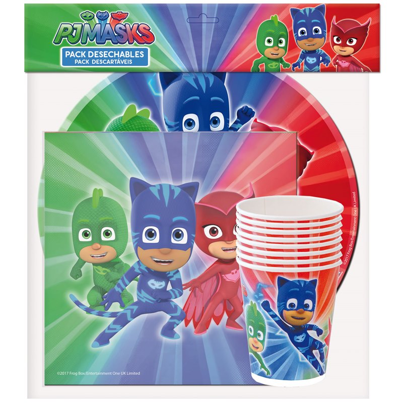 Pack para Fiestas PJ Masks