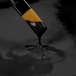 Pintura Comestible Negra Rainbow Dust