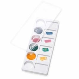 Paleta para colores con tapa