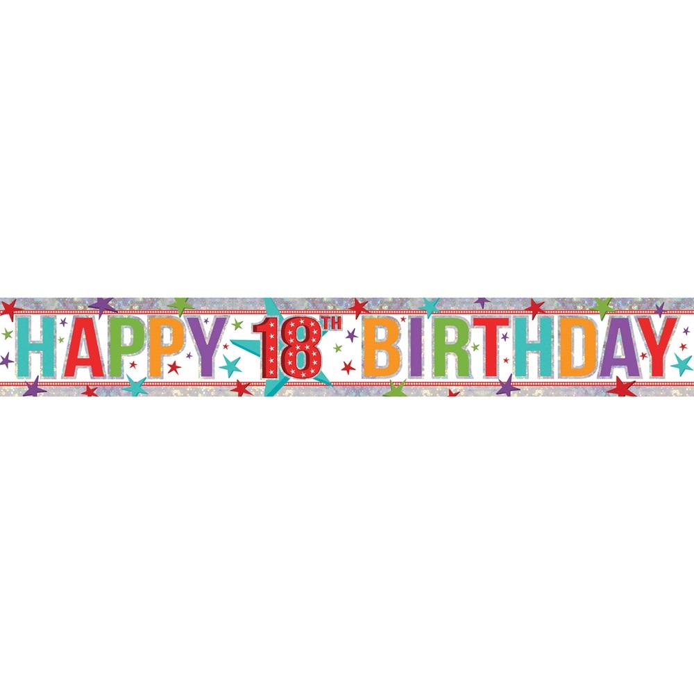 Pancarta 18 Cumpleaños