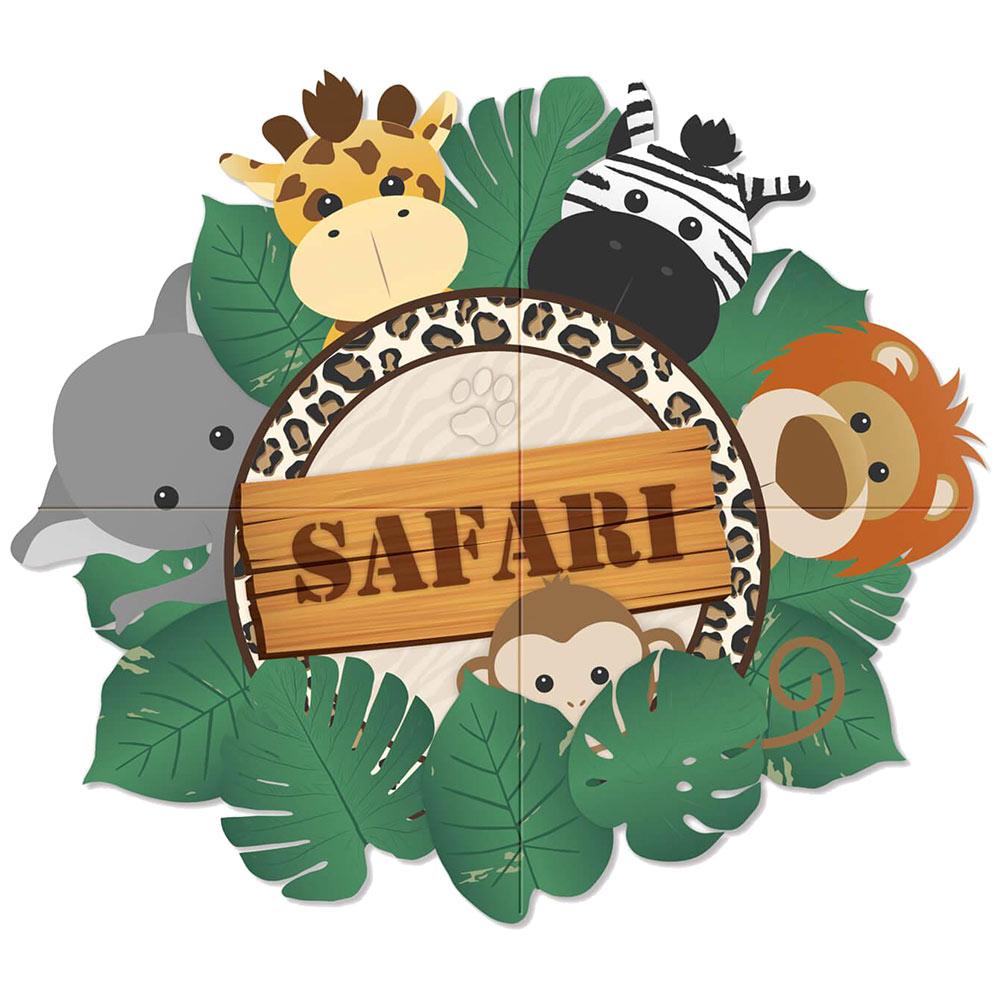 Panel Decorativo Safari 1,50 m