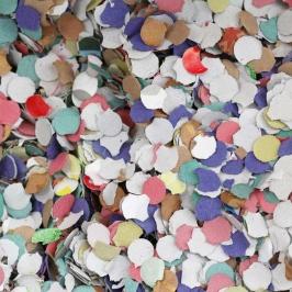 Papel Confeti colores surtidos 100gr