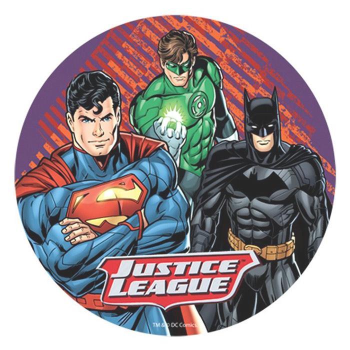 Papel de oblea Batman y Superman