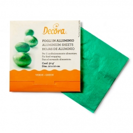 Papel para Envolver Dulces Color Verde