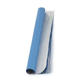 Set 3 Hojas de Aluminio Corrugado Azul Real