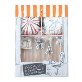 Parisian Cupcake Kit