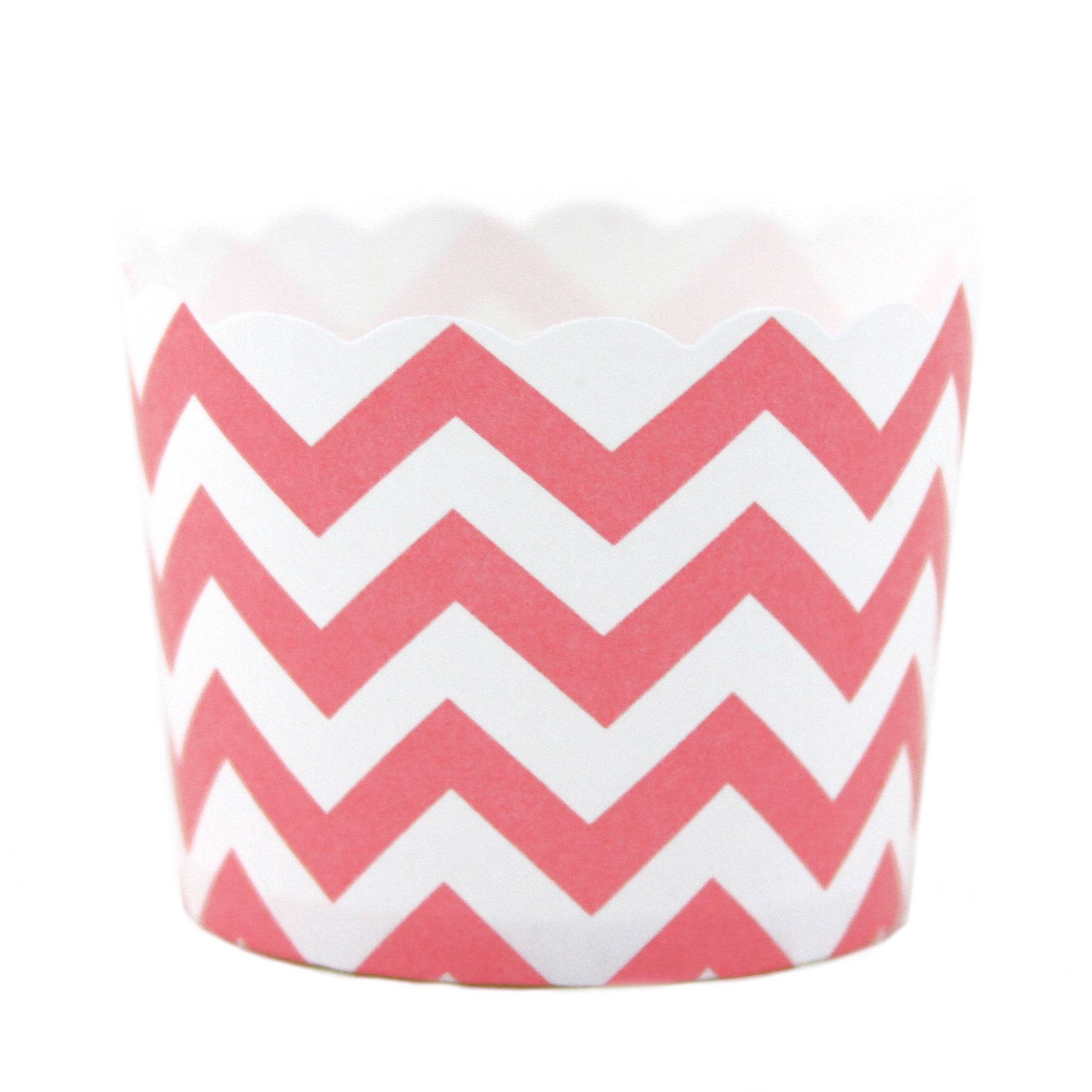 Party Candy cups rosa chevron (24 uds)