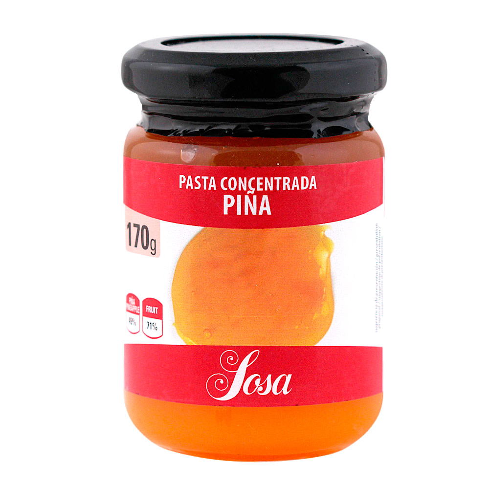 Piña en Pasta 170 gr - Sosa