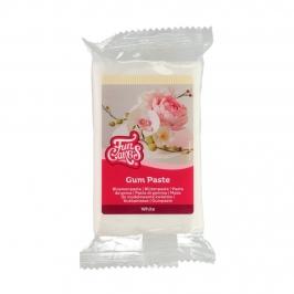 Pasta de goma color blanco de 250 gramos perfecta para decorar dulces