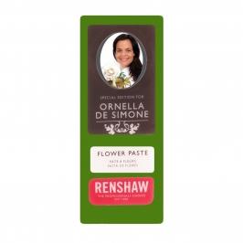 Pasta de flores y modelado verde musgo Renshaw 100 gr
