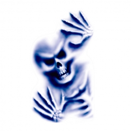 Pegatina Decorativa para Pared Esqueleto