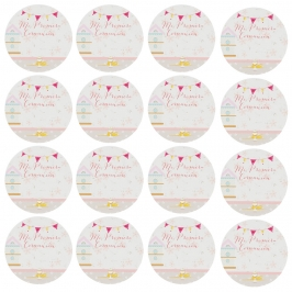 Pegatinas de Comunión Niña 96 Unidades - My Karamelli
