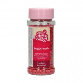 Perlas de Azúcar Rojo Brillante 80 gr Funcakes