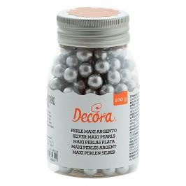Perlas de azúcar Plateadas tamaño Maxi