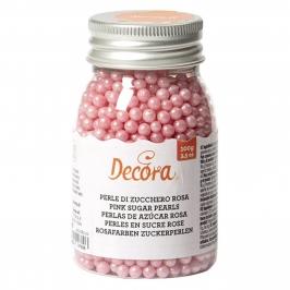 Perlas de Azúcar Rosa Nacarado 4 mm - My Karamelli