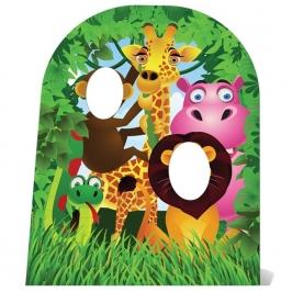 Photocall Animales de la Selva Infantil 120 cm
