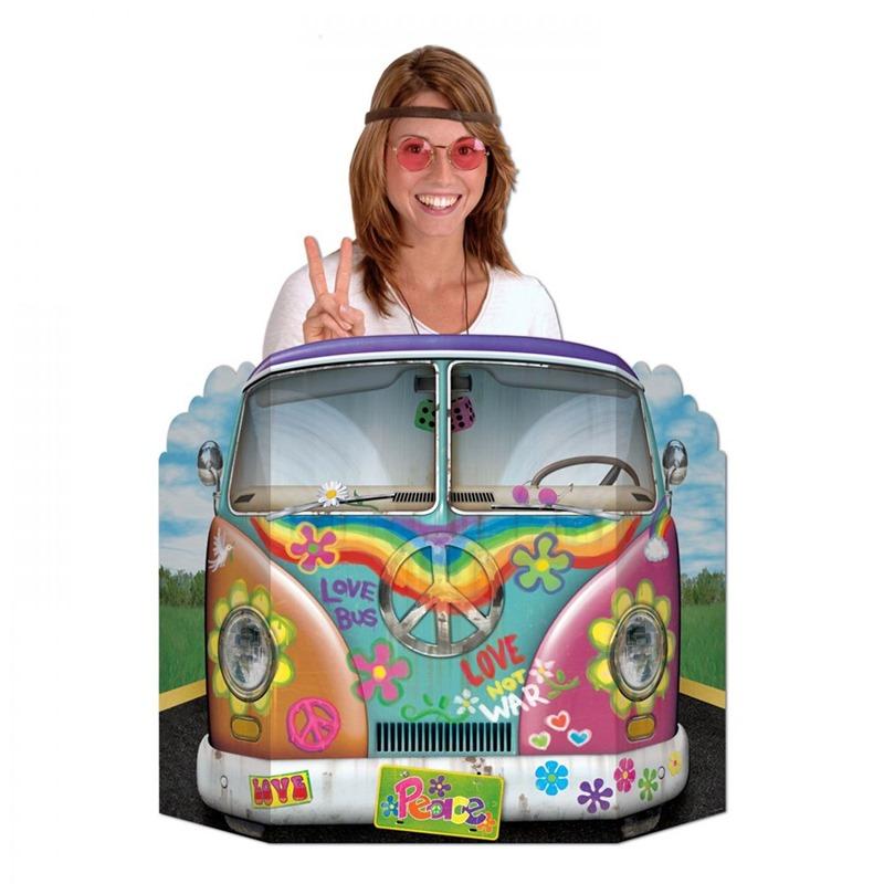 Photocall Coche Hippie