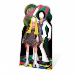 Photocall Fiesta Disco Adulto 190 cm