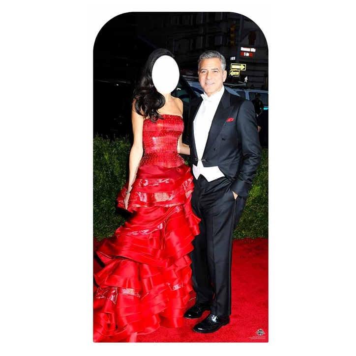 Photocall George Clooney 182cm