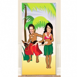Photocall Hawaiano 90x180cm