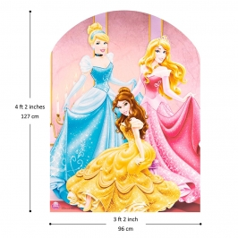 Photocall Princesas Disney Infantil 130cm