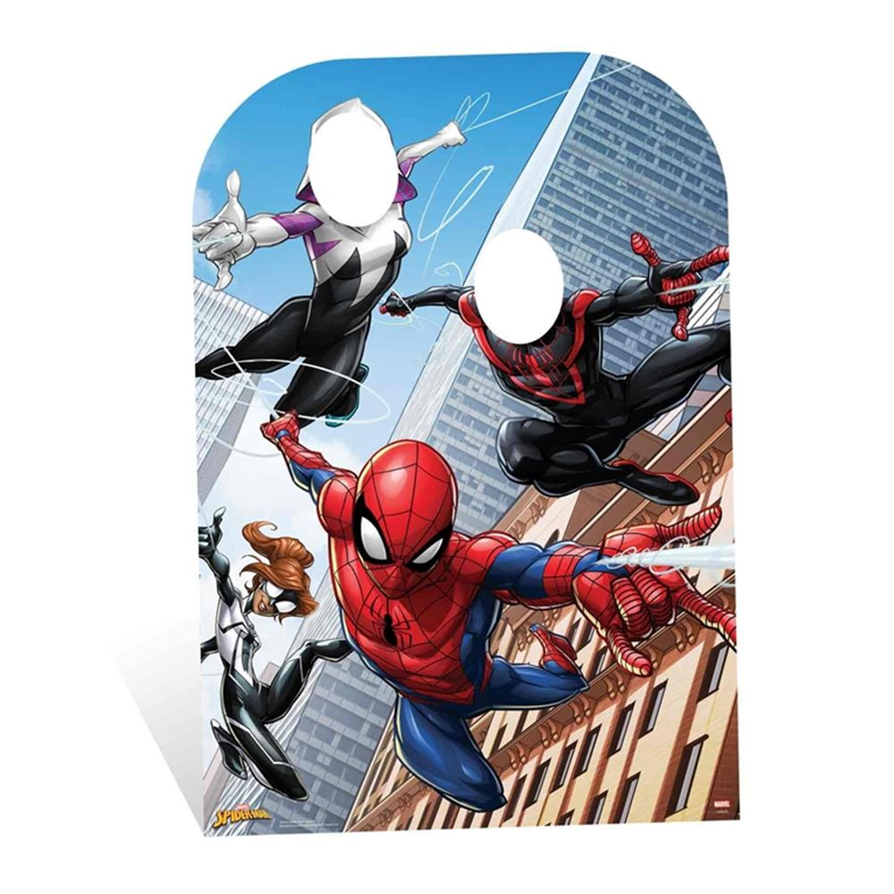 Photocall Spiderman Warrior Infantil 130 cm