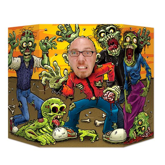 Photocall Zombie
