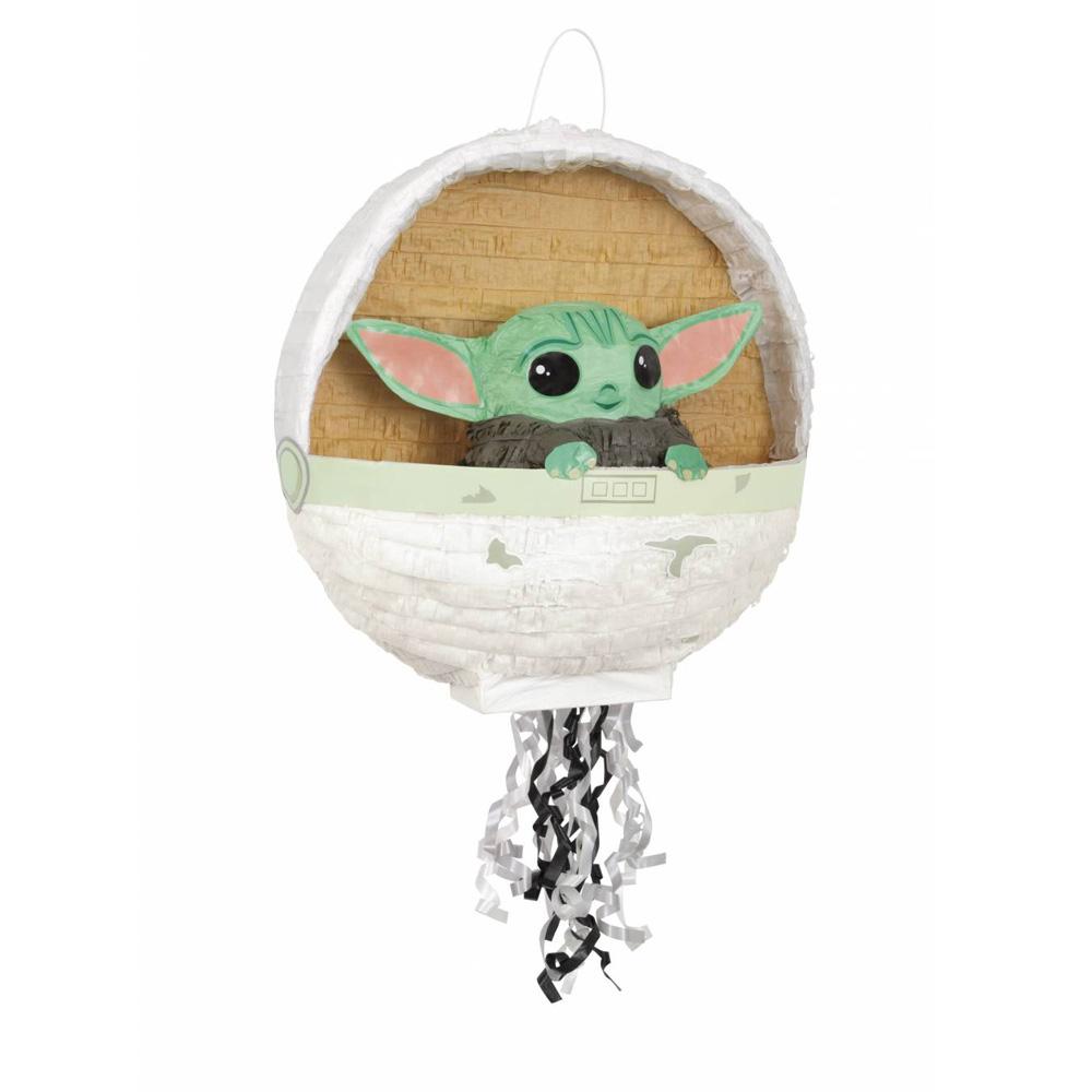 Piñata Baby Yoda 3D 43 cm