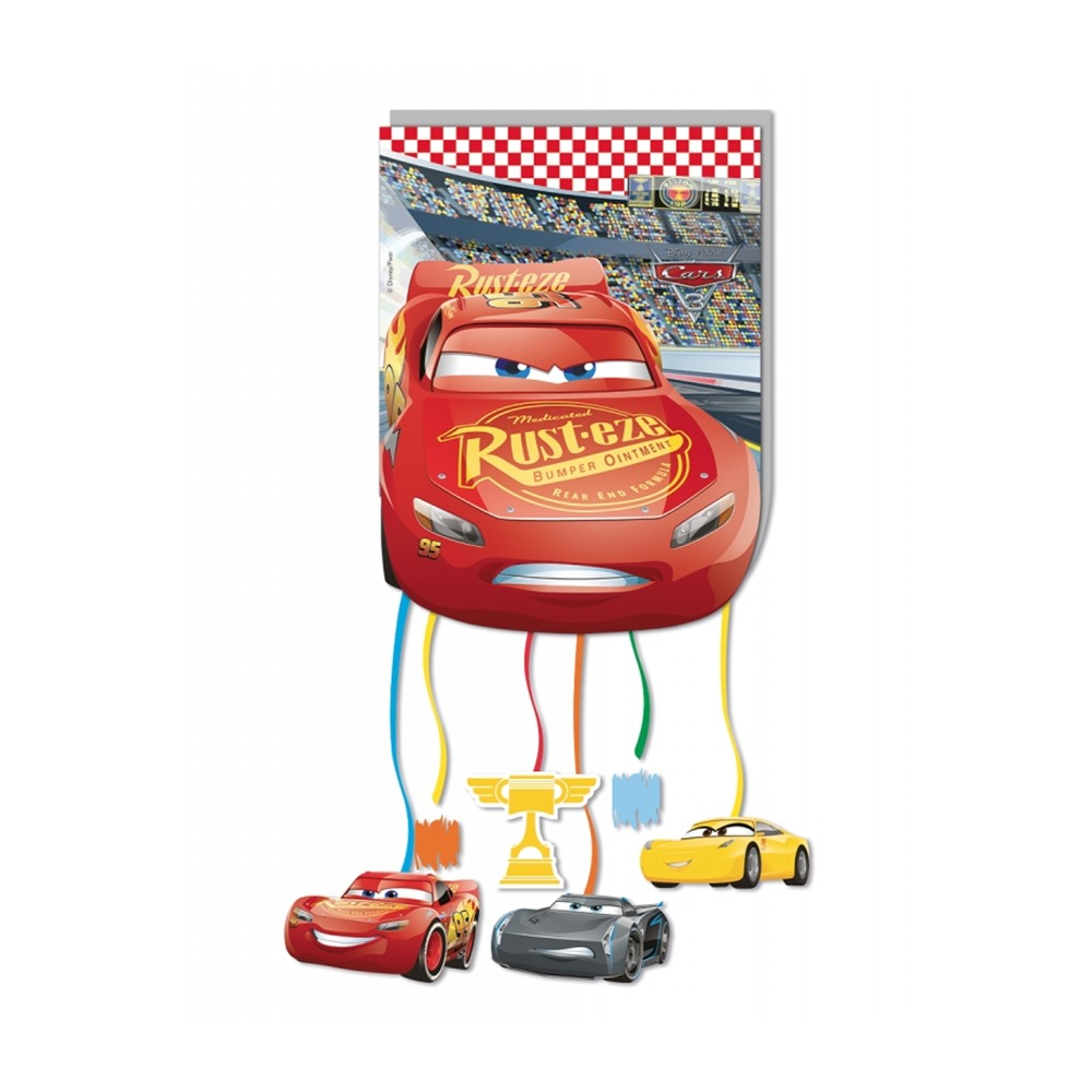 Piñata Pequeña Cars 3 27 cm