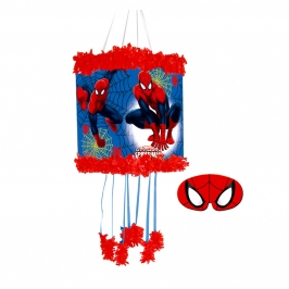 Piñata con Antifaz Spiderman