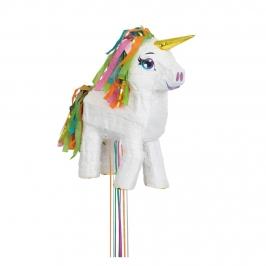 Piñata Infantil Unicornio Blanco