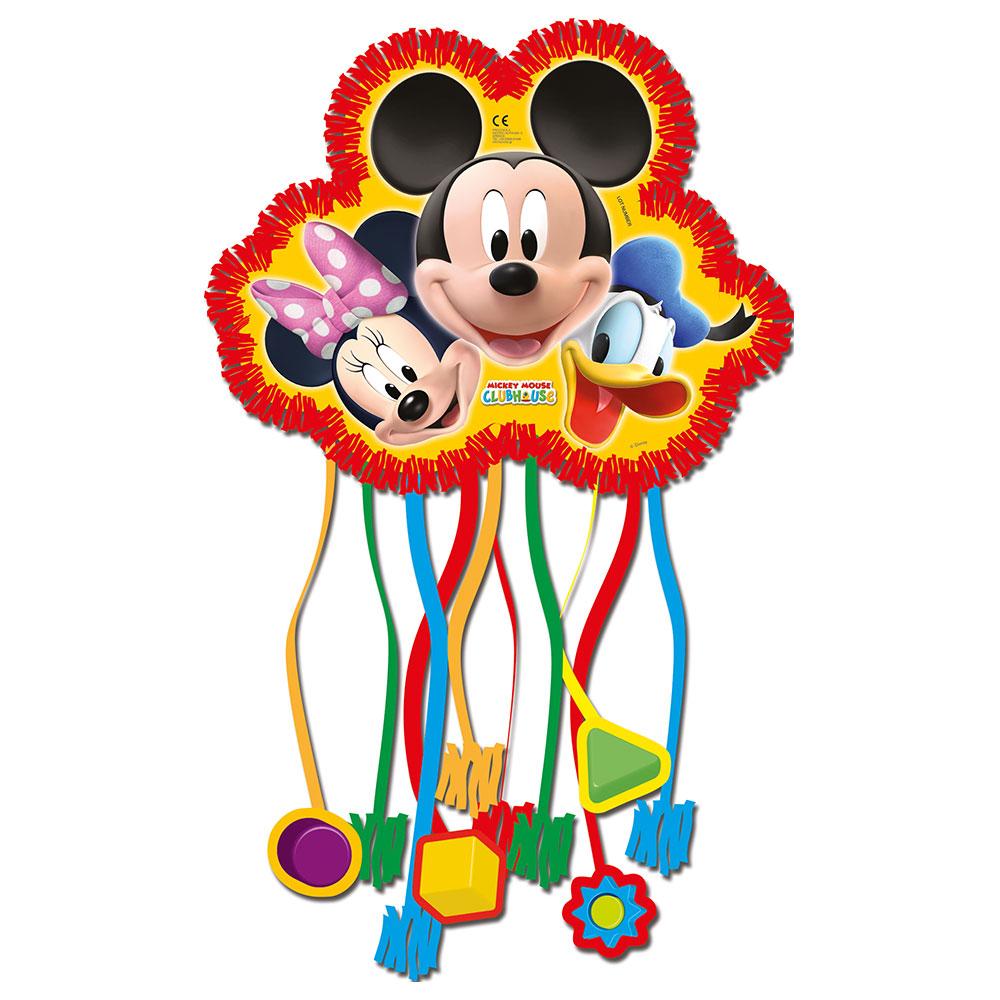 Piñata Mickey Mouse, Minnie y Pato Donald