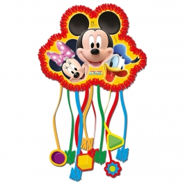 Piñata Mickey Mouse, Minnie y Pato Donald