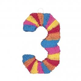 Piñata Nº 3 Multicolor 56 cm