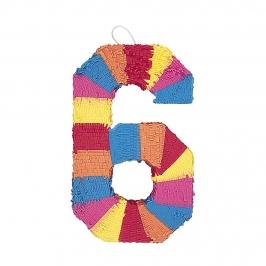 Piñata Nº 6 Multicolor 56 cm