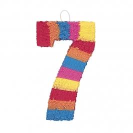 Piñata Nº 7 Multicolor 56 cm