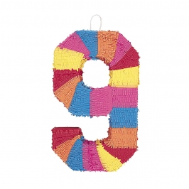 Piñata Nº 9 Multicolor 56 cm