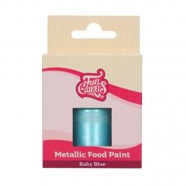 Pintura Comestible Azul Bebé 30 ml