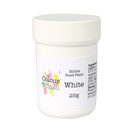 Pintura Comestible Blanca 25 gr
